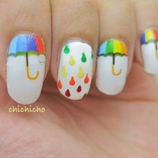 Latest nail art designs 31