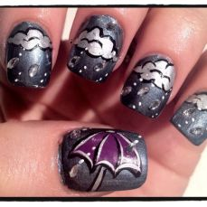 Latest nail art designs 35