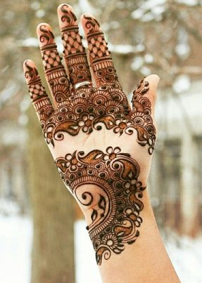 Simple mehndi designs 11
