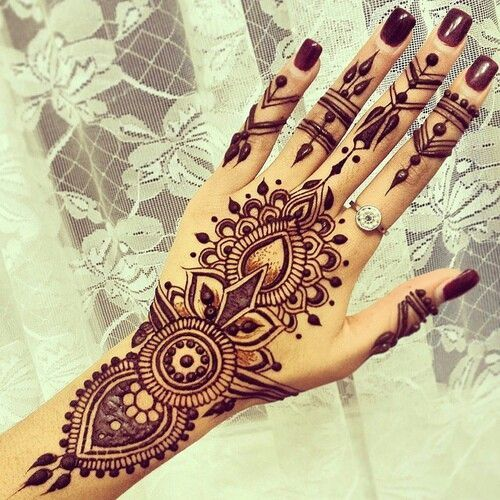 15 Simple Mehndi Designs For An Ultimate Festive Look Indian