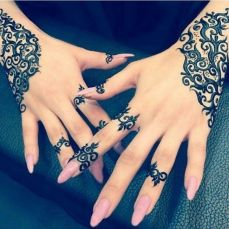 Simple mehndi designs 19