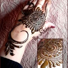 Simple mehndi designs 22