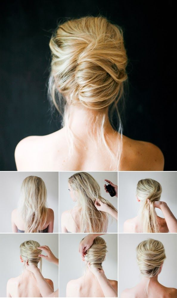 Beautiful 15 Simple Step By Step Hairstyles