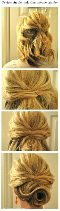 Step by step hairstyles for medium length hair 02