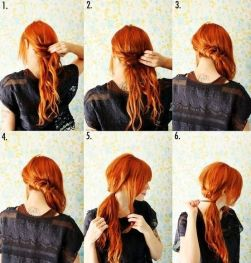Step by step hairstyles for medium length hair 03