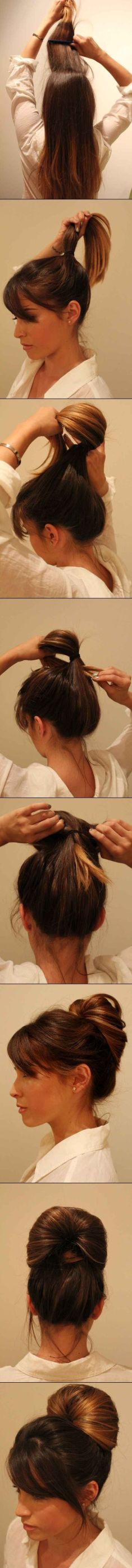 Step by step hairstyles for medium length hair 05