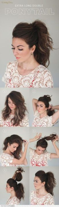 Step by step hairstyles for medium length hair 08