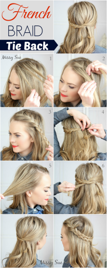 Indian hairstyles step by step 02