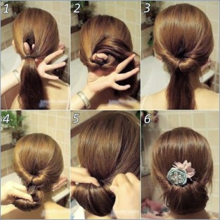 Indian hairstyles step by step 04