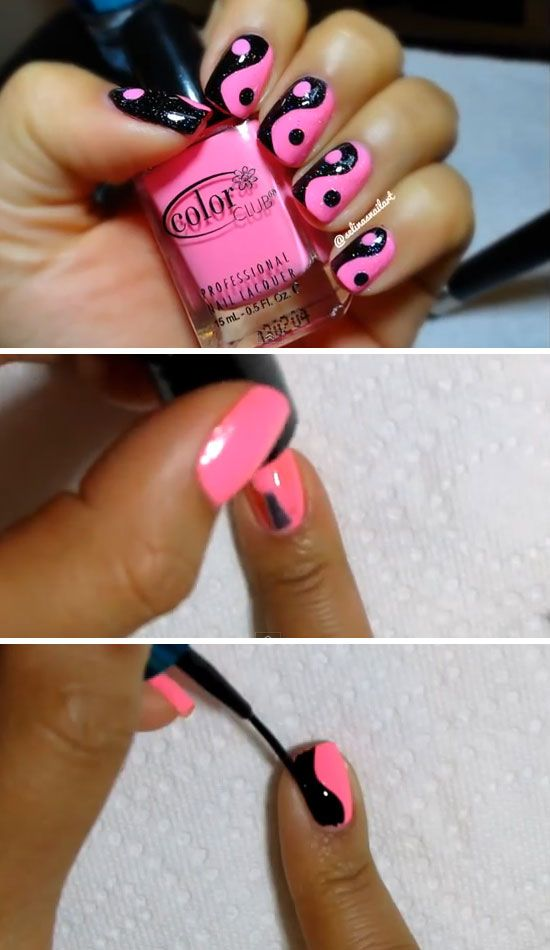 Nail art at home 07
