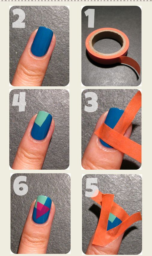 Nail art at home 14