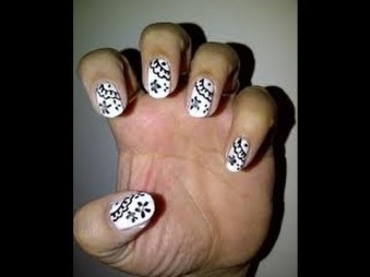 Nail art at home 19