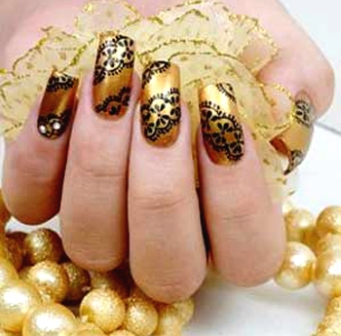 Nail art at home 21