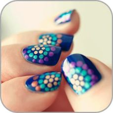 20 pretty nail art designs to do at home this teej