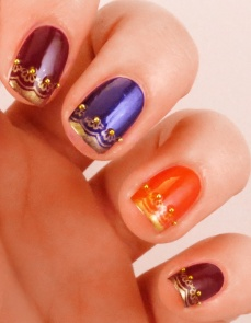 Nail art at home 34