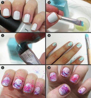 nail art at home 42