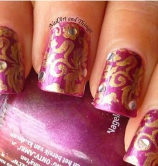 nail art at home 62