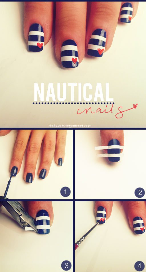 nail art step by step at home 02   Indian Makeup and Beauty Blog ...