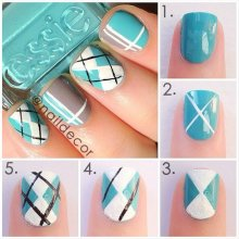 nail art step by step at home 13