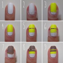 nail art step by step at home 14