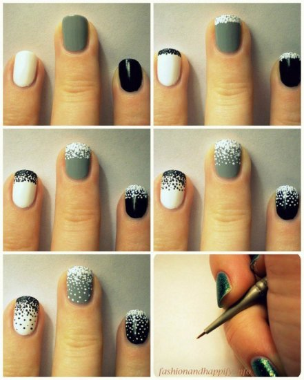 nail art step by step at home 15