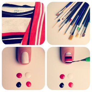 nail art step by step at home 21