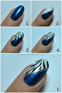 nail art step by step at home 23