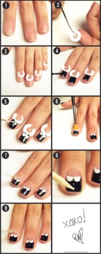 nail art step by step at home 24