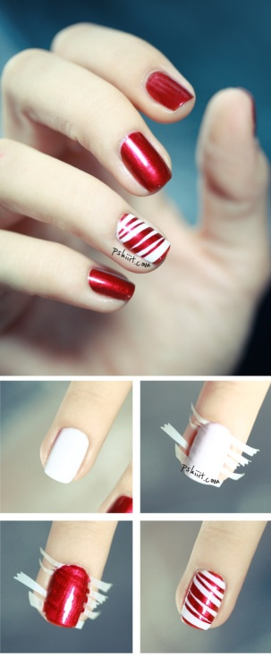 nail art step by step at home 28