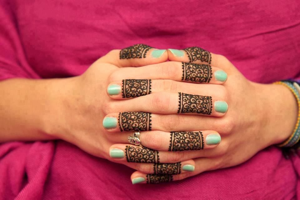 Mehndi For Teej : Simple teej mehandi designs indian makeup and beauty