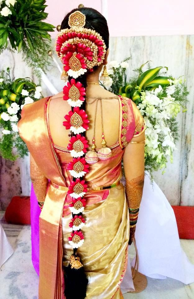 Awe Inspiring 27 Indian Wedding Hairstyles For An Ultimate Traditional Look Zuri Short Hairstyles For Black Women Fulllsitofus