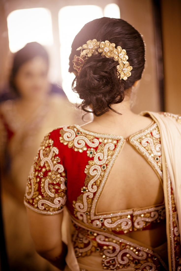 Traditional Indian wedding hairstyles 10