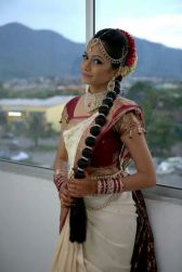 Traditional Indian wedding hairstyles 11