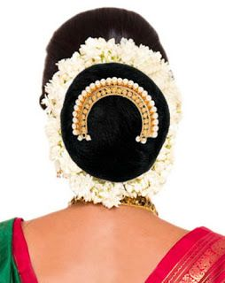 Traditional Indian wedding hairstyles 14