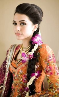 Traditional Indian wedding hairstyles 21