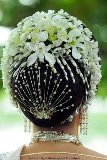 Traditional Indian wedding hairstyles 26