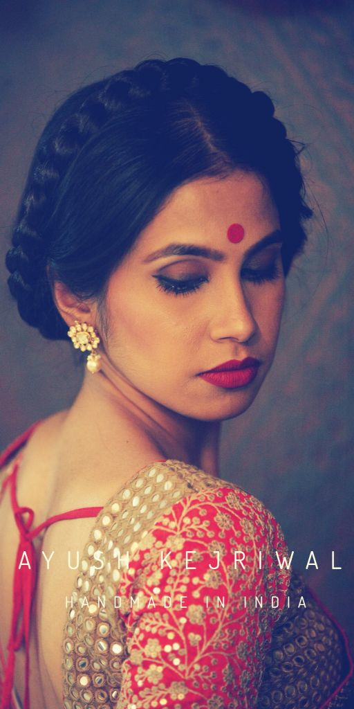 Traditional Indian wedding hairstyles 27