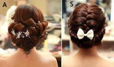 indian wedding hairstyles 34