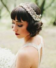 Indian wedding hairstyles for short hair 15
