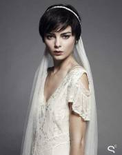 Indian wedding hairstyles for short hair 16