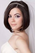Indian wedding hairstyles for short hair 17