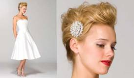 Indian wedding hairstyles for short hair 19