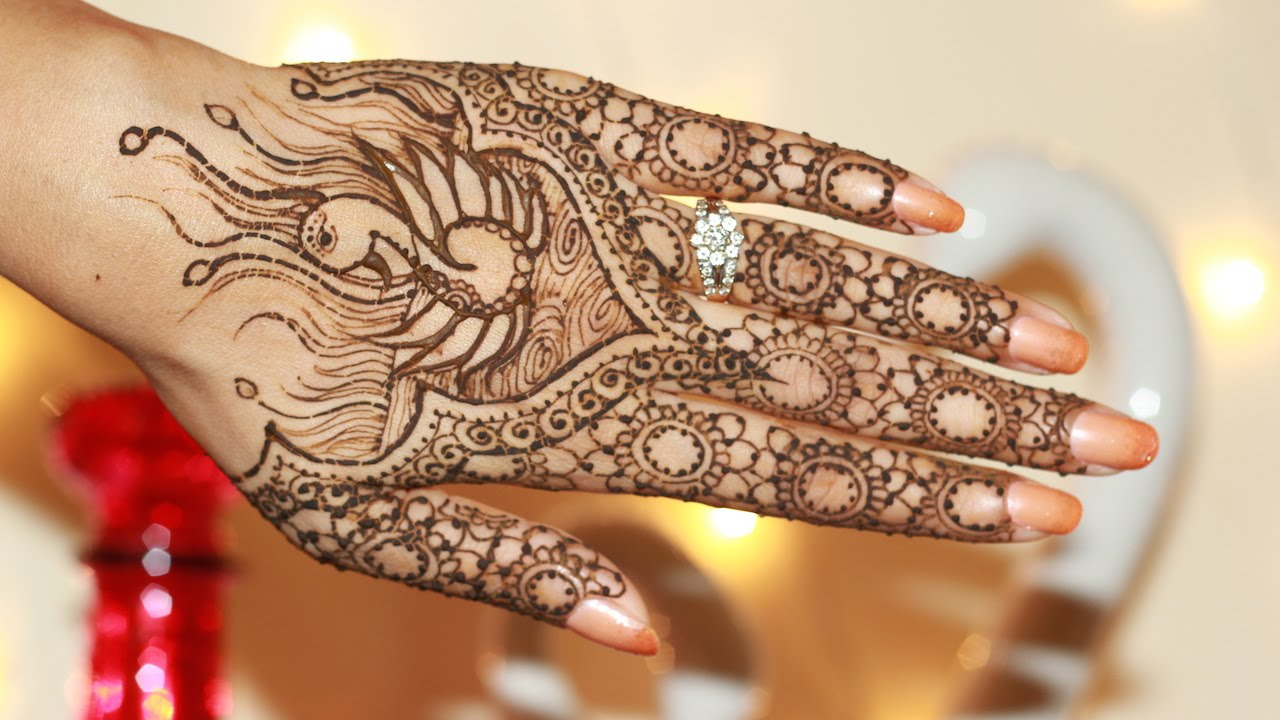 22 super classy and symbolic mehendi designs for your hands indian makeup and beauty blog. Black Bedroom Furniture Sets. Home Design Ideas