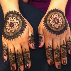 Mehendi Designs for Your Hands 20