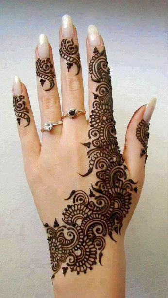 mehndi designs for hands 45