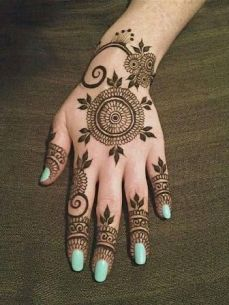 mehndi designs for hands 49