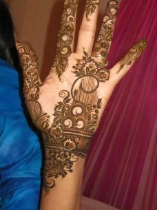 mehndi designs for hands 50