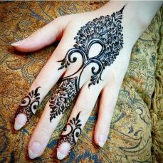 mehndi designs for hands 53