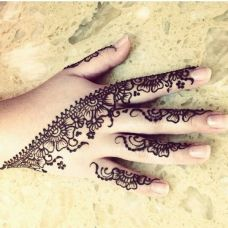 mehndi designs for hands 55