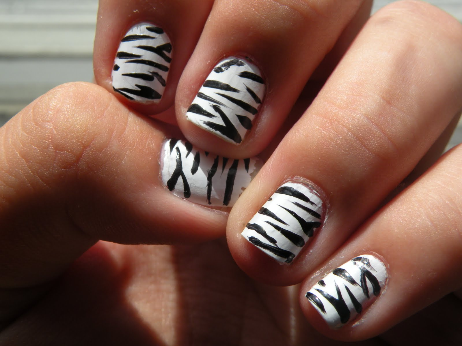 Nail art design with white base cute and dainty nail art designs cute and dainty nail art designs with a white base glam radar view images prinsesfo Images